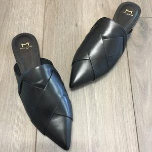 Marc Fisher LTD Leather Mules/Flats